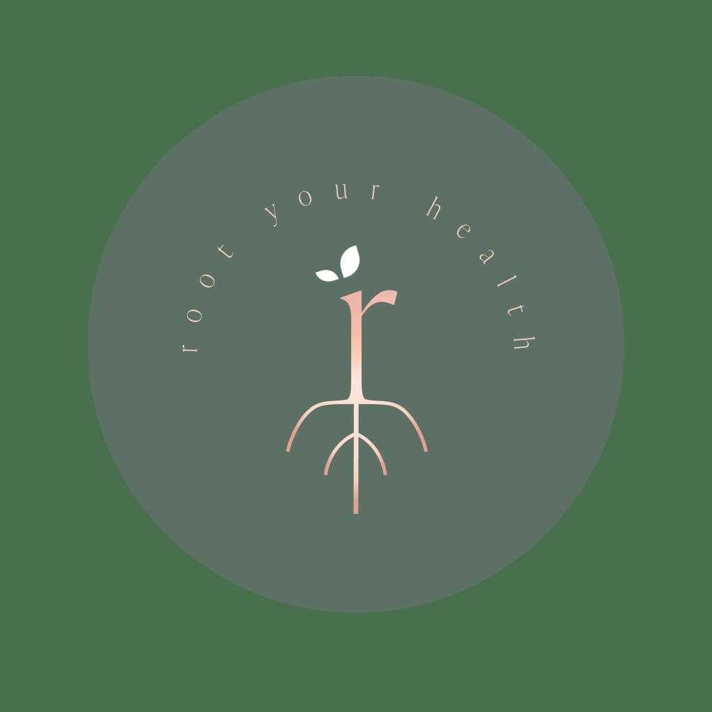 Root Your Health Logo Nadia Coetzee - Nutritionist - Perth