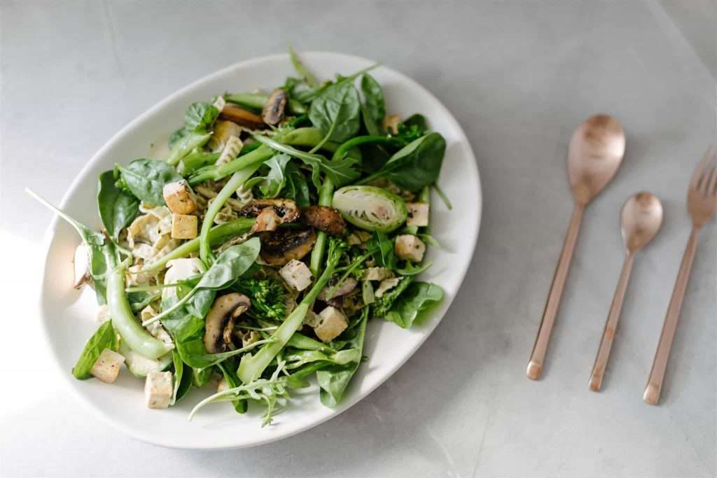 Edamame Noodle salads