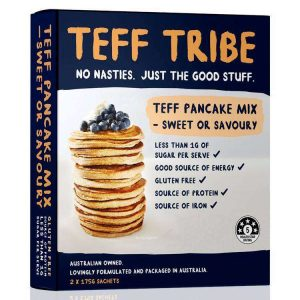 Nadia Coetzee - Nutritionist - Root Your Health - Perth - Shop - TEFF PANCAKE MIX- SWEET OR SAVOURY