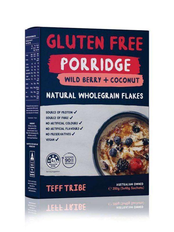 Nadia Coetzee - Nutritionist - Root Your Health - Perth - Shop - TEFF Wildberry and Coconut Porridge