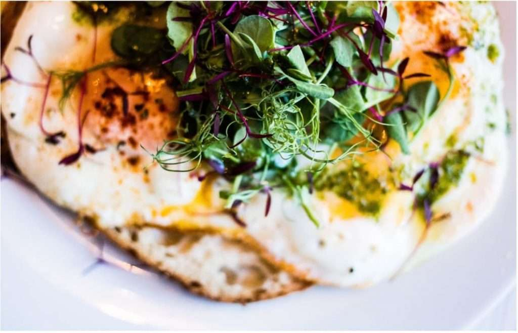 Recipes with Nadia Coetzee - Nutritionist - Root Your Health Perth Buckwheat crepe with fried eggs and pesto