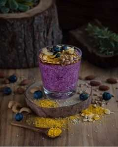 Recipes with Nadia Coetzee - Nutritionist - Root Your Health Perth Chia seed Parfait