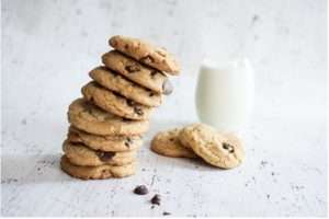 Recipes with Nadia Coetzee - Nutritionist - Root Your Health Perth Chocolate Chip Vegan Oat Cookies