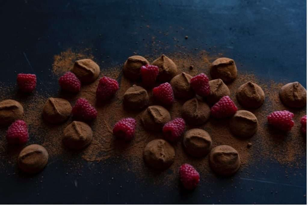 Recipes with Nadia Coetzee - Nutritionist - Root Your Health Perth Chocolate Coated Raspberries