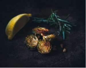 Recipes with Nadia Coetzee - Nutritionist - Root Your Health Perth Harissa spiced Brussel sprouts