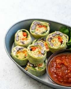 Recipes with Nadia Coetzee - Nutritionist - Root Your Health Perth Mexican Veggie Rolls