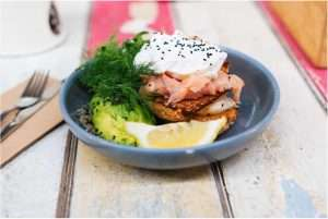 Recipes with Nadia Coetzee - Nutritionist - Root Your Health Perth Salmon and egg poke bowl
