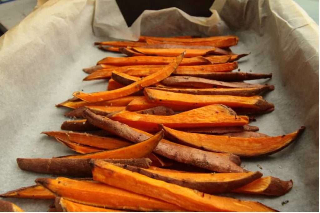 Recipes with Nadia Coetzee - Nutritionist - Root Your Health Perth Sweet potato fries