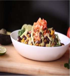 Recipes with Nadia Coetzee - Nutritionist - Root Your Health Perth Vegan Nachos