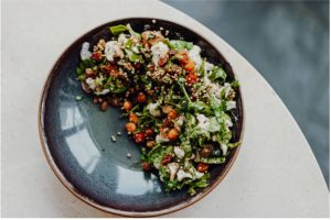 Recipes with Nadia Coetzee - Nutritionist - Root Your Health Perth - Roast Vegetable and Quinoa Salad