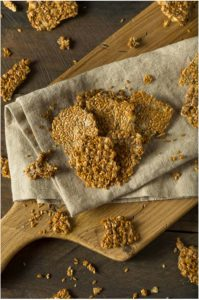 Recipes with Nadia Coetzee - Nutritionist - Root Your Health Perth - Seeded Probiotic Crackers and Yogurt Kimchi dip