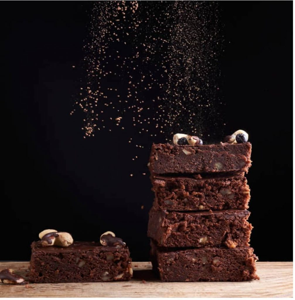 Recipes with Nadia Coetzee - Nutritionist - Root Your Health Perth - Vegan Chocolate Hazelnut Brownies