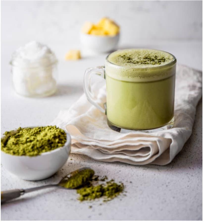 Nadia Coetzee - Nutritionist - Root Your Health - Perth - Green Matcha Mint Latte