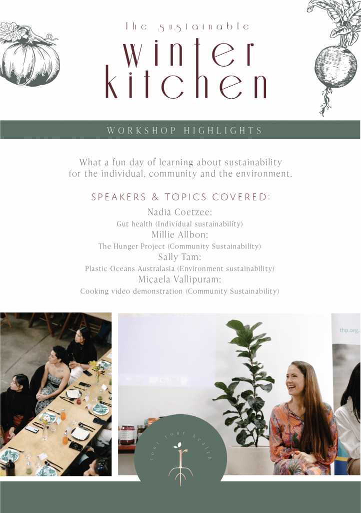 Nadia Coetzee - Nutritionist - Root Your Health - Perth - The Sustainable Winter Kitchen